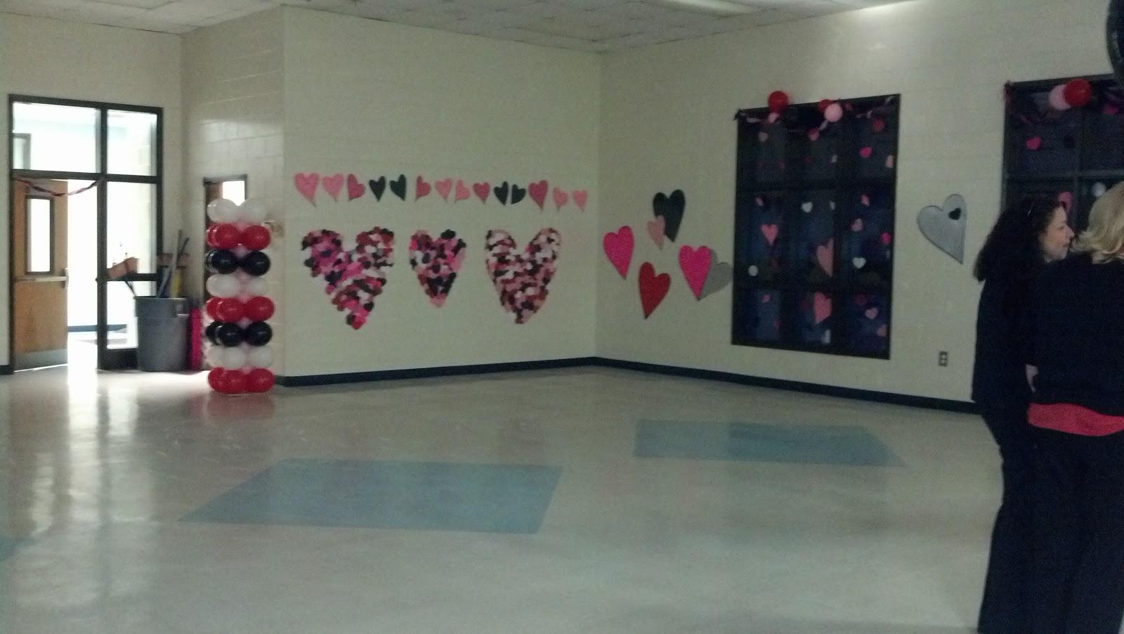 School Valentines Dance Decorations