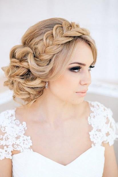 exquisite wedding hairstyles