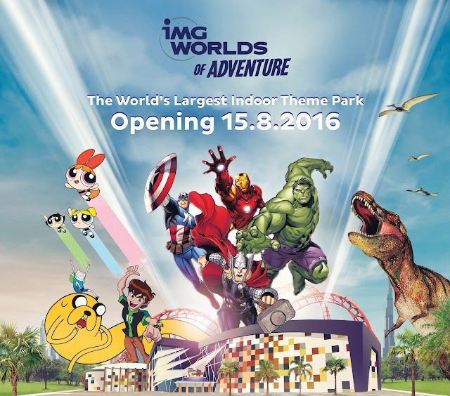 Mega Theme Parks opening in Dubai this year