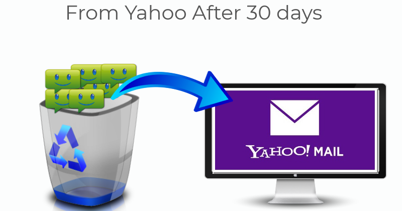 How To Recover Deleted Emails From Yahoo After 30 Days