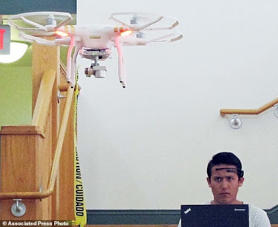 Student from University of Florida controls the drone using his mind
