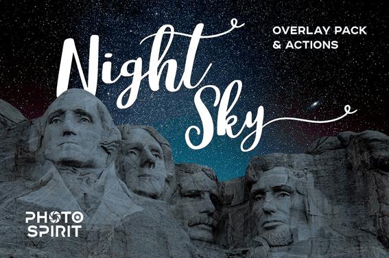Download Night Sky Background Overlays