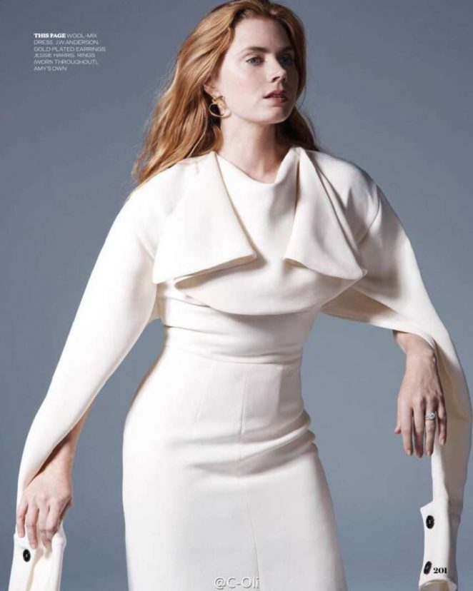 amy adams sexy pics in elle magazine 03