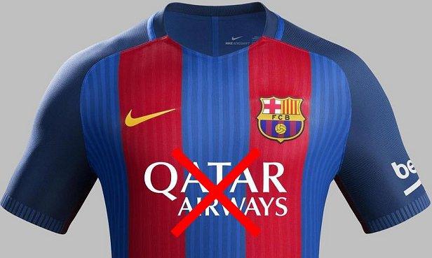 98b2e15bf51 Barcelona não renovará contrato com a Qatar Airways. Enquanto o contrato de  fornecimento de material esportivo ...