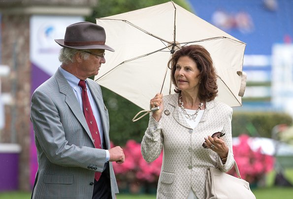 King Carl Gustaf and Queen Silvia  visit the CHIO World Equestrian Festival in Aachen, Germany. newmyroyals, new my royals, newmy royals blog, new my royals blog