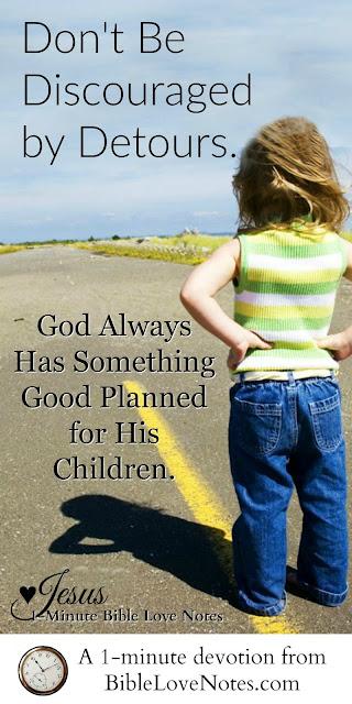Detours and Delays, God uses detours, Exodus 13:17