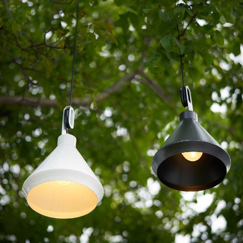 lampade di design per giardini, terrazze, patii e balconi