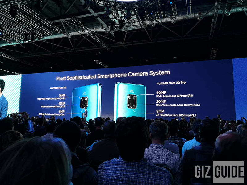 The Huawei Mate 20 and Mate 20 Pro's cameras!
