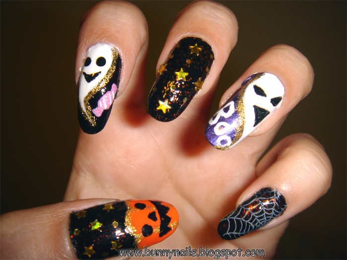 Bunny Nails: Halloween Nails!