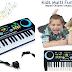 Electronic Organ Musical Kids Piano Teaching Keyboard for Kids Children Birthday