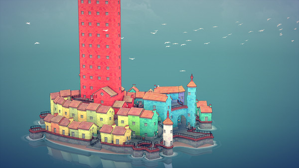Townscaper (2020) PC Game Español Early Access