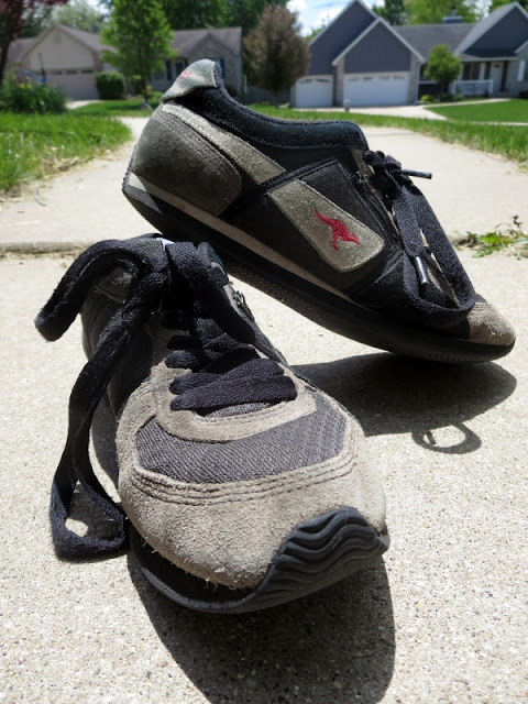 Find out why I dedicated an entire post to a pair of old shoes and aid me in saying farewell to my KangaRoos! Rest in peace my beloved solemate, you will be missed! #KangaRoo #shoes