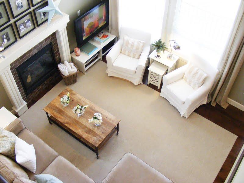 Birds Eye View Living Room