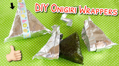 DIY Onigiri Wrappers