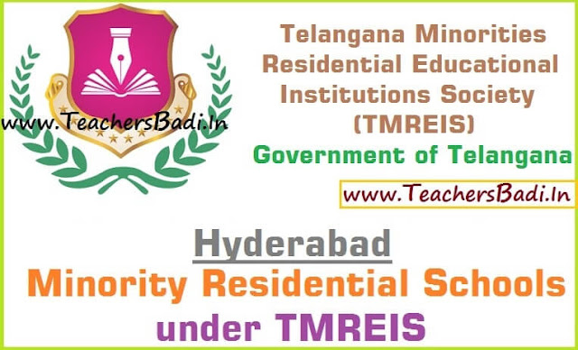 Hyderabad District,Minority Residential Schools,TMREIS
