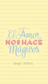 El amor nos hace mágicos