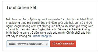 Từ chối liên kết từ Website của bạn hãy cẩn thận nhé