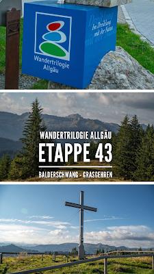 Wandertrilogie Allgäu | Etappe 43  Balderschwang - Grasgehren | Himmelsstürmer Route
