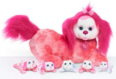 Собака Лиа и щенки