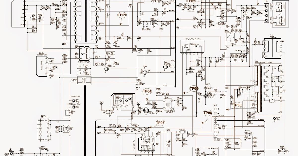 Samsung Crt Tv Circuit Diagram