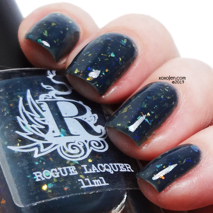 xoxoJen's swatch of Rogue Lunar Rainbow