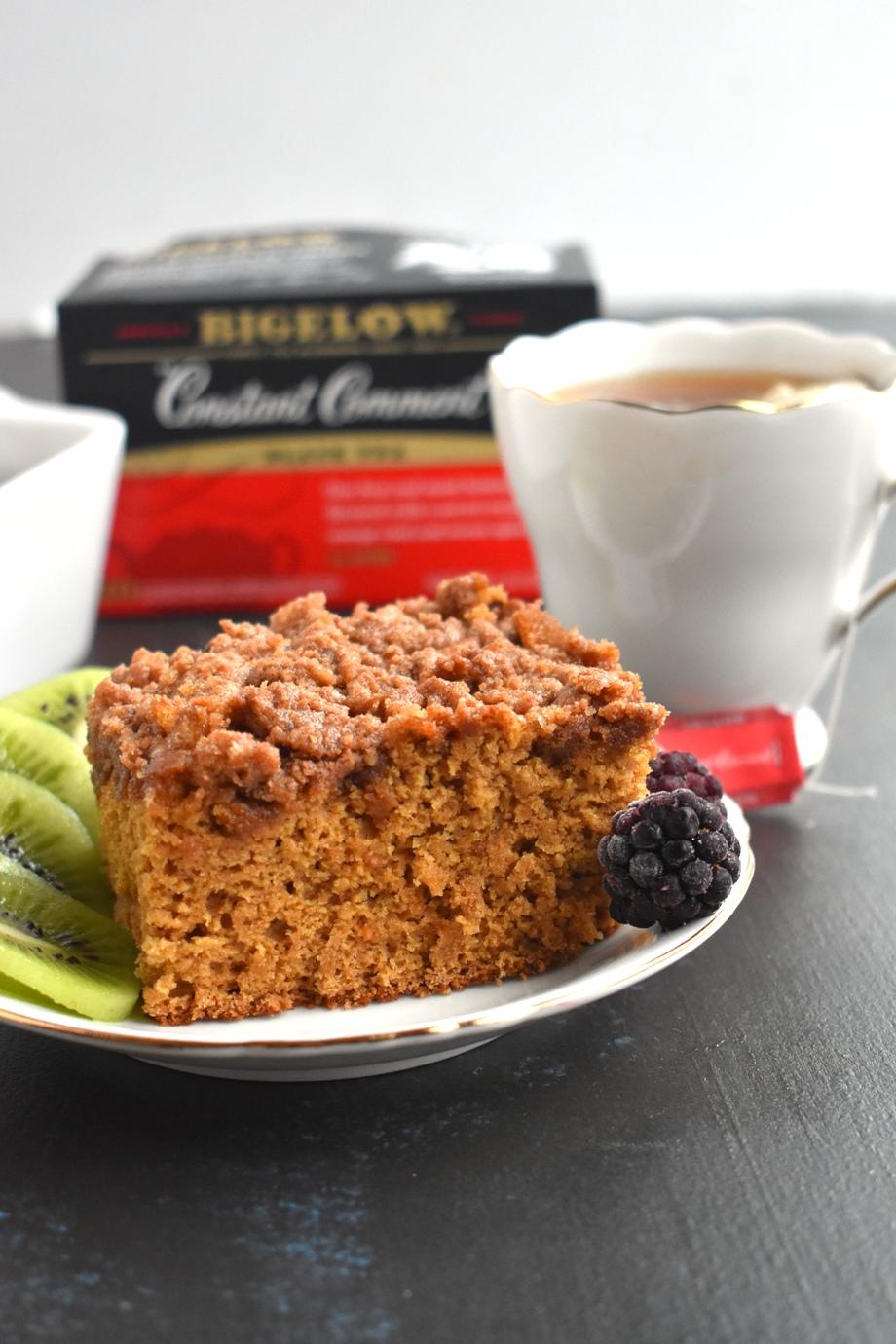 Whole Wheat Cinnamon Streusel Coffee Cake