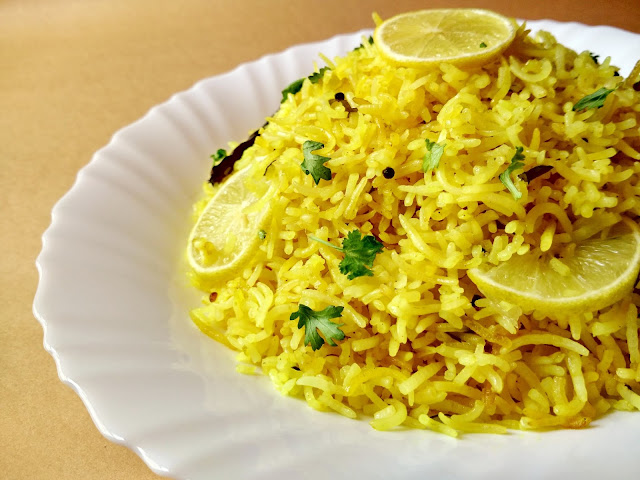 Lemon Rice | Quick Rice Recipe