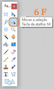 6 F -Ferramenta _Mover selecção