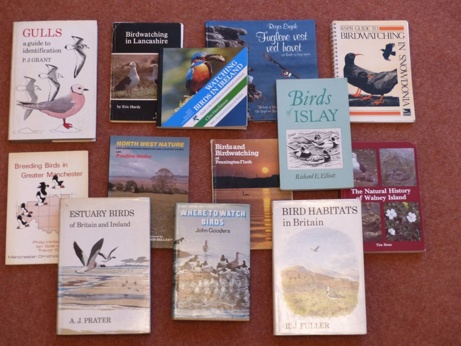 Leigh Ornithological Society The Jack Critchley Book Collection Sale