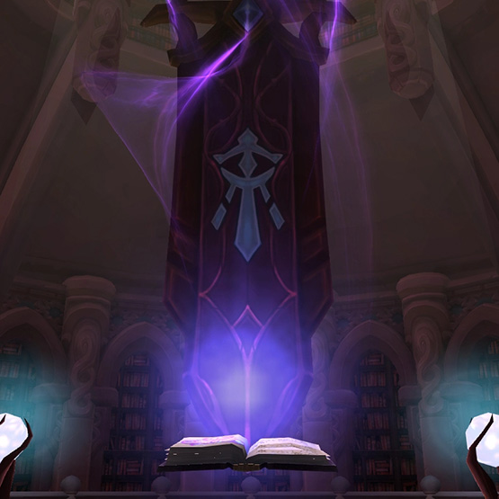 Mage Class Hall Wallpaper Engine