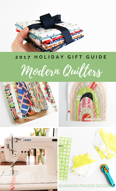 Ultimate gift guide for the modern quilter in your life | Books, Gift Cards, Tools & Notions are just some of the categories covered in these Christmas gift ideas