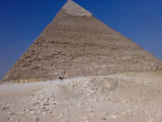 Egypt Civilization: Pyramid of Khafre in Egypt