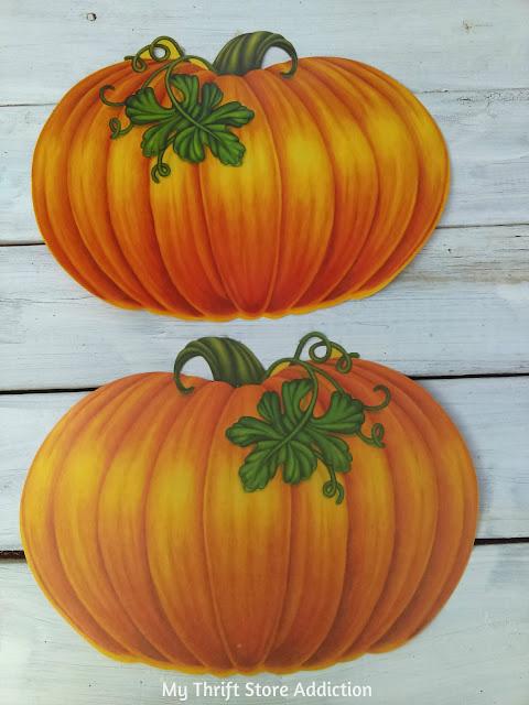 vintage Beistle pumpkins