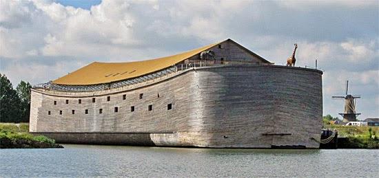 Arca de Noé - Réplica na Holanda
