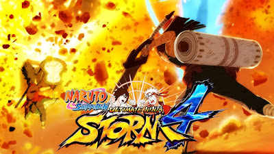 Naruto Shippuden Ultimate Ninja Storm 4 MOD PPSSPP For Android Terbaru 2019