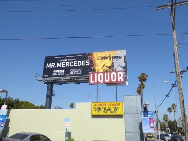 Mr Mercedes series billboard