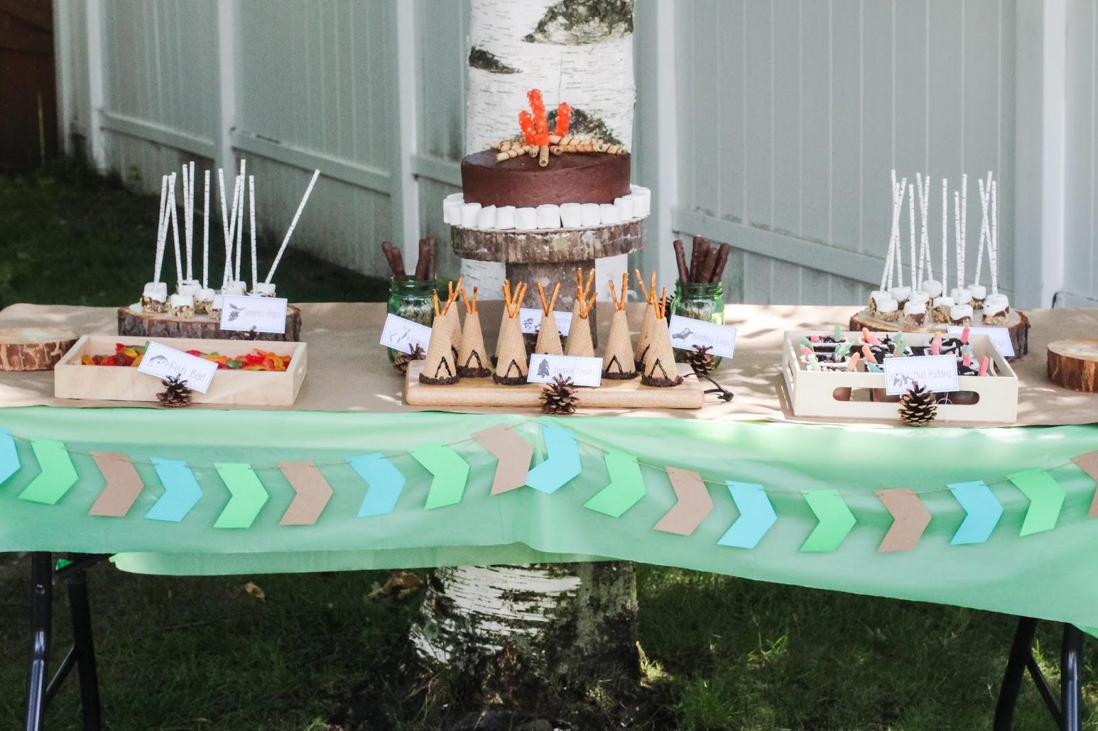 Nadia And Daxs Happy Camper Birthday Party Part I