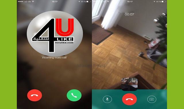 قريباً مكالمات الفيديو على الواتساب WhatsApp Video Call Soon