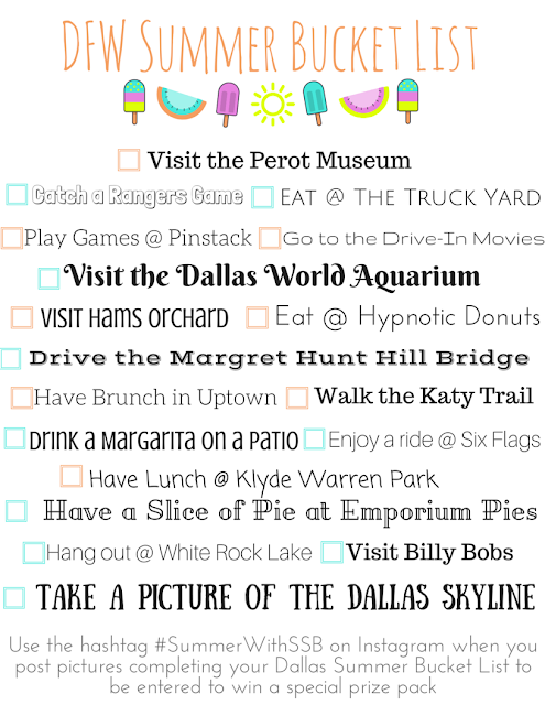 DFW Bucket List