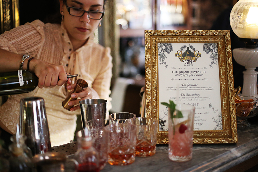 Mr Fogg's Gin Parlour, Covent Garden