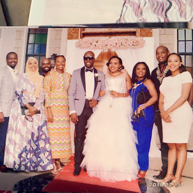 Linus Kaikai's Wife Calls Betty Kyallo Bad Rubbish As Dennis Okari Weds Her Friend