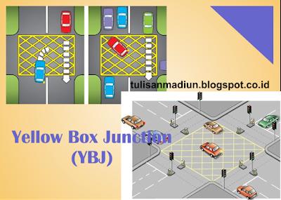 Inilah Penjelasan Garis Kotak Kuning di Lampu Merah Kota Madiun (YBJ)