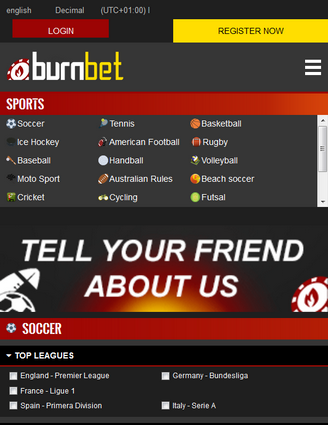 Burnbet Screen