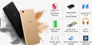 Spesifikasi dan review HP Vivo V7 Plus