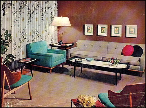 mod retro home decor  mid century modern bedroom