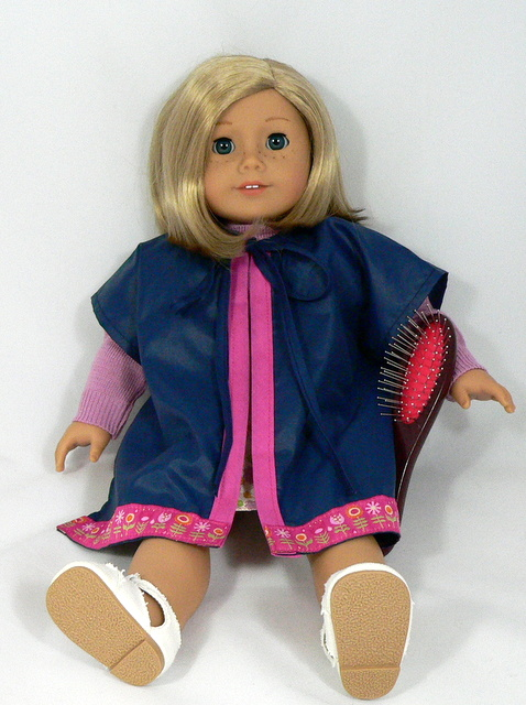 styling american doll hair a photo s worth american doll hair styling capes 4407