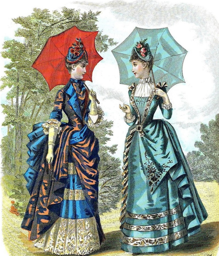 Devilinspired Victorian Clothing Fashion For Women During