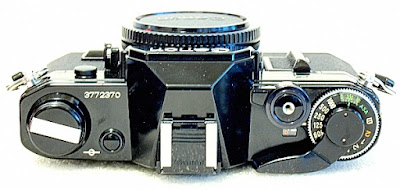 Canon AE-1, Top