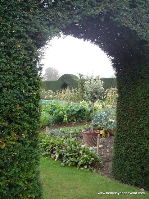 garden at Castle Howard in York, England