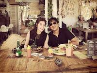 ANDRE TAULANY & ERIN Berbagi kemesraan di Bali